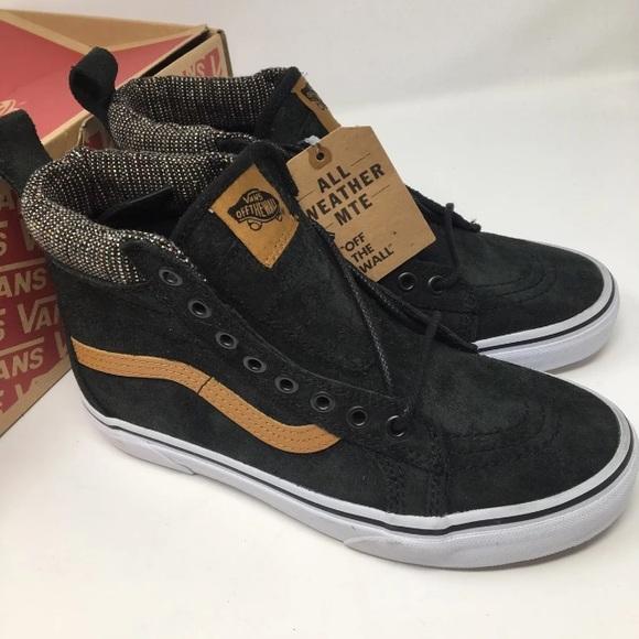 4e0cda36ca VANS SK8 hi all Weather MTE Shoes Size 8.5 7